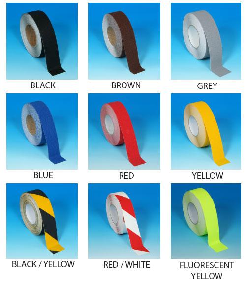Anti Slip Floor Marking Tape Colours