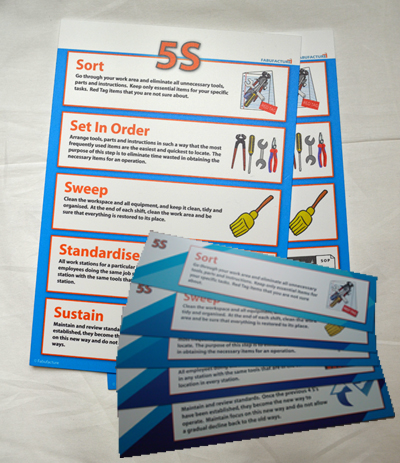 5S Awareness Kit - Silver