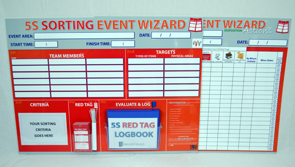 5s Sorting Event Wizard Event Boards Sku 9508 The 5s