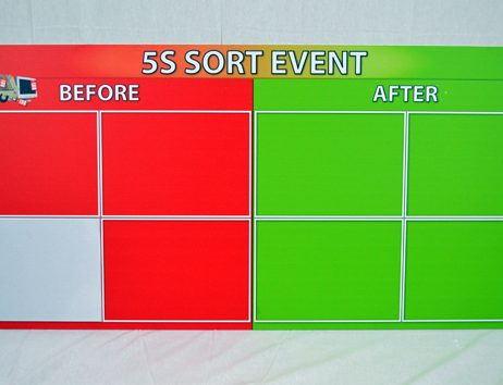 5S Before and After Board