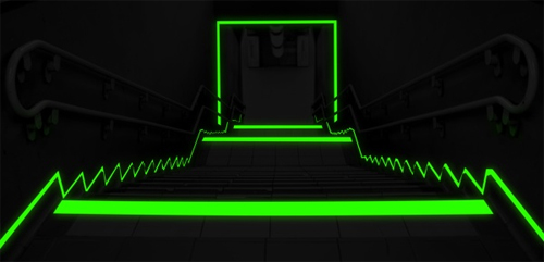 Glow in the Dark Photoluminescent Egress Tape