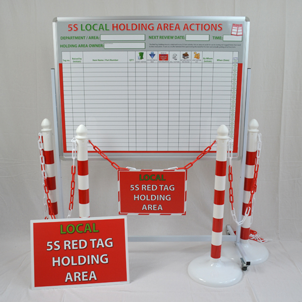 5S Holding Area Kit Gold