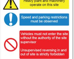 Safety Signs in Construction