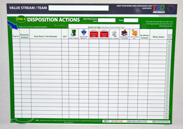 TED Standard - Premium Board 2 Actions
