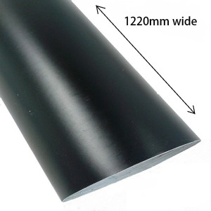 Satin Black or White Self Adhesive Vinyl