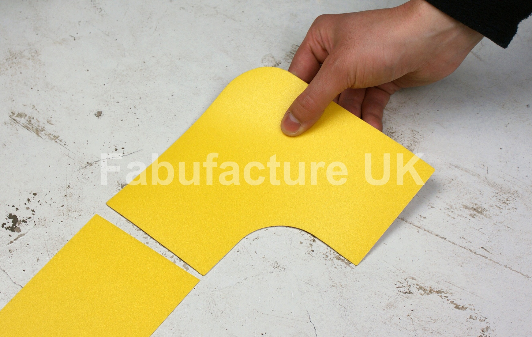 Heavy Duty Aisle Floor Marking Corners 90 Degree Angle