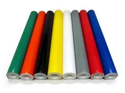 ColouredFablon Sticky Back Plastic