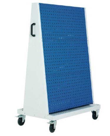 1600mm High Heavy Duty Mobile Perfo Board Trolley